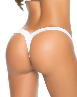 Mapale by Espiral The Perfect Thong in White