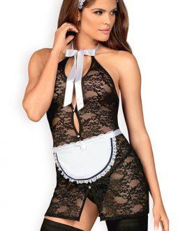 Obsessive Full Service 4 Pce Sexy Maid Costume